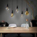 OSRAM Vintage EDITION 1906 / Ampoule LED Filament, Forme Globe, Culot E27, 4W Equivalent 34W, 220-240V, claire, Blanc Chaud, 2400 K, Lot de 1 pièce [Classe énergétique A+] de la marque Osram image 4 produit