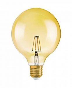 OSRAM Vintage EDITION 1906 / Ampoule LED Filament, Forme Globe, Culot E27, 4W Equivalent 34W, 220-240V, claire, Blanc Chaud, 2400 K, Lot de 1 pièce [Classe énergétique A+] de la marque Osram image 0 produit
