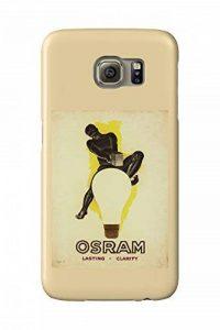 Osram Vintage Poster (artist: Leonetto Cappiello) France c. 1933 (Galaxy S6 Cell Phone Case, Slim Barely There) de la marque Lanterner image 0 produit