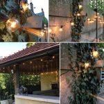 OxyLED G40 Ampoules de rechange pour éclairage de jardin extérieur, avec 25 ampoules incolores blanc chaud, niveau A de la marque OXYLED image 4 produit