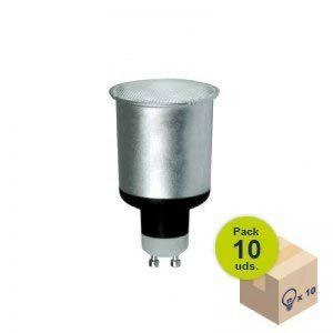 Pack de 10ampoules basse consommation ESL GU10230V 13W 4200K de la marque HALOTEC image 0 produit