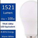 Pack de 8-15W Ampoule LED (100W équivalent) - Galaxy TruLight - Blanc Chaud de la marque Galaxy Trulight image 1 produit