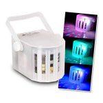 PACK DERBY DJ blanc à LEDs RGBW 4x3W DMX + Chenillard LED + 2 Effets UFO OVNI de la marque Flash image 3 produit