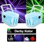 Pack LED DJ 2 effets BEAM 5 LEDS RVB DERBY KOLOR Mini + STROBE150 Portique de la marque LytOr image 1 produit