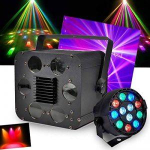 PACK lumières à LEDs RGBW 2x10W DMX avec étrier de fixation FLASH Pack Dj + PAR MINI RGBW Ibiza Light de la marque Flash image 0 produit