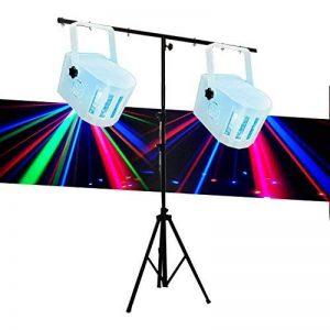 Pack Portique 8 jeux de lumière + 2 Jeux de lumière effet Derby Kolor de la marque Lytor image 0 produit