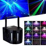 PACK Sono DJ LIGHT Jeux de lumière 4 EFFETS DERBY Noir 4 LEDs RGBW + Portique de la marque Lytor image 3 produit