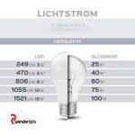 panderlights Lot de 5Set Ampoule LED Lampe 1W 80LM (remplace env. 10W) Blanc chaud–SMD LED GU10–Angle d'éclairage 120° de la marque PanderLights image 2 produit