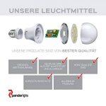 panderlights Lot de 5Set Ampoule LED Lampe 1W 80LM (remplace env. 10W) Blanc chaud–SMD LED GU10–Angle d'éclairage 120° de la marque PanderLights image 3 produit