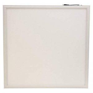 Panneau LED luminaire carré 40W watts 60x60cm. Pour une maison, un bureau, un but commercial. Profil de panel en aluminium moulé blanc avec abat-jour mate blanc. 30000 heures de vie et 3 ans de garantie. de la marque ledus image 0 produit