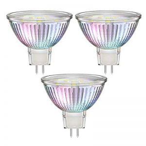 Parlat ampoule LED, Blanc chaud, verre, GU5.3, 1.9W 4.8x 5x 4.8cm 3unités de la marque Parlat image 0 produit