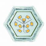 Paulmann Licht 281.38 Éclairage intérieur, Verre, GU5.3, 2 W, Argenté, 4,5 x 5, x 4,5 cm de la marque Paulmann image 2 produit