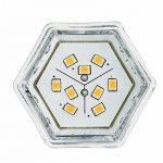 Paulmann Licht 281.38 Éclairage intérieur, Verre, GU5.3, 2 W, Argenté, 4,5 x 5, x 4,5 cm de la marque Paulmann image 3 produit