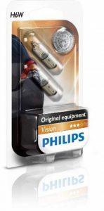 Philips 12036B2 Lot de 2 ampoules pour clignotant PREMIUM H6W de la marque Philips image 0 produit