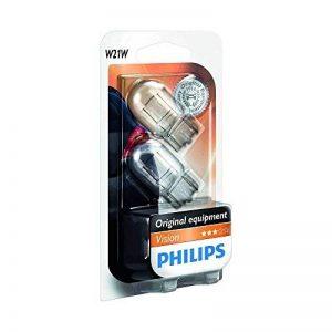 Philips 12065B2 Lot de 2 ampoules à culot en verre Vision W21W sous blister de la marque Philips image 0 produit
