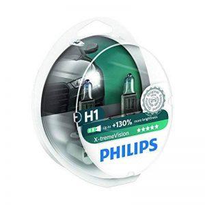 Philips 12258XV+S2 Lot de 2 ampoules de phare X-treme Vision H1 + 100% de la marque Philips image 0 produit