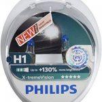 Philips 12258XV+S2 Lot de 2 ampoules de phare X-treme Vision H1 + 100% de la marque Philips image 1 produit