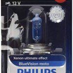 Philips 12342BVUBW Ampoule de phare de moto Blue Vision Moto H4 de la marque Philips image 1 produit