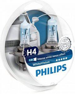 Philips 12342WHVSM WhiteVision Effet Xénon H4 pour Éclairage Avant, Set de 2 de la marque Philips image 0 produit