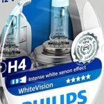Philips 12342WHVSM WhiteVision Effet Xénon H4 pour Éclairage Avant, Set de 2 de la marque Philips image 1 produit
