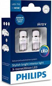Philips 12799I60X2 X-tremeUltinon LED éclairage intérieur Voiture W5W T10 6000K 12V, Set de 2, Set de 2 de la marque Philips image 0 produit