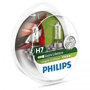 Philips 12972LLECOS2 Lot de 2 ampoules de phare LongLife EcoVision H7 de la marque Philips image 0 produit
