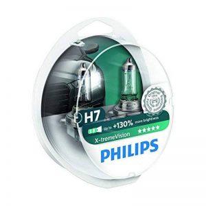Philips 12972XVS2 Lot de 2 ampoules de phare X-treme Vision H7 +100% [Pour une durée limitée, le produit performant à +130% (2 bulbes)] de la marque Philips image 0 produit