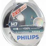 Philips 12972XVS2 Lot de 2 ampoules de phare X-treme Vision H7 +100% [Pour une durée limitée, le produit performant à +130% (2 bulbes)] de la marque Philips image 1 produit