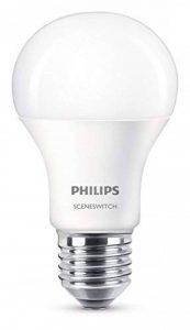 Philips 2359663210816,5cm sceneswitch Ampoule LED Culot à Vis Edison, Synthétique, Blanc, E27,60 W de la marque Philips image 0 produit