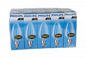 Philips 30600005E, ampoule à incandescence en forme de poire, Verre, transparent, E27 75 wattsW, Lot de 10 de la marque LIGHT_SOURCE image 0 produit