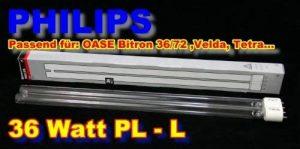 Philips 36W UV-C PL L Lampe de rechange Longueur: 415mm Version 2013 de la marque Philips image 0 produit