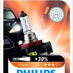 Philips 681111 Vision Plus 30 Pourcent 1 H11 12V 55W de la marque Philips image 2 produit