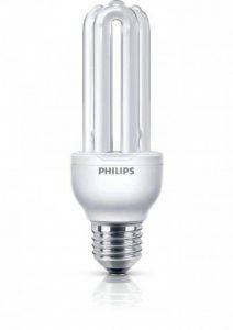 Philips 8718291216773 Ampoule à vis à économie d'énergie tube Culot E27 Blanc chaud 18 W de la marque Philips image 0 produit