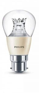 Philips 8718696525654Patite ampoule LED à baïonnette B22 Lumière chaude Compatible avec variateur d'intensité Blanc chaud 6 W de la marque Philips image 0 produit