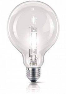 Philips Ampoule EcoHalogène Globe Culot E27 70 Watts consommés Equivalence incandescence : 92W de la marque Philips Lighting image 0 produit