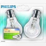Philips Ampoule EcoHalogène Standard Culot B22 53 Watts consommés Equivalence incandescence : 70W (Ref: 925693444204) de la marque Philips Lighting image 2 produit