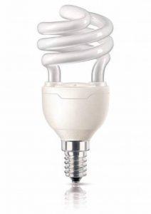 Philips Ampoule FluoCompacte Spirale Culot E14 12 Watts Consommés Équivalence Incandescence : 58W de la marque Philips Lighting image 0 produit