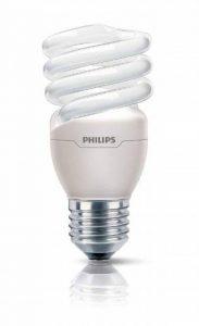 Philips Ampoule FluoCompacte Spirale Culot E27 15 Watts Consommés Équivalence Incandescence : 70W de la marque Philips Lighting image 0 produit