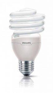 Philips Ampoule FluoCompacte Spirale Culot E27 23 Watts Consommés Équivalence Incandescence : 110W de la marque Philips Lighting image 0 produit