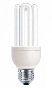 Philips Ampoule FluoCompacte Stick Culot E27 18 Watts Consommés Équivalence Incandescence : 80W de la marque Philips Lighting image 0 produit
