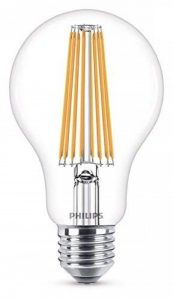 Philips Ampoule LED E27, 11W Équivalent 100W, Blanc Chaud de la marque Philips Lighting image 0 produit