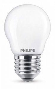 Philips Ampoule LED E27, 2,2W Équivalent 25W, Blanc Chaud de la marque Philips Lighting image 0 produit