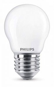 Philips Ampoule LED E27, 2,2W Équivalent 25W, Blanc Chaud de la marque Philips Lighting image 0 produit
