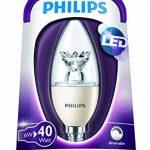 Philips Ampoule LED Flamme Compatible Variateur Culot E14 6 Watts Consommés Équivalence Incandescence 40W de la marque Philips Lighting image 1 produit