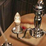Philips Ampoule LED Flamme Culot E14, 8W équivalent 60W, Blanc Chaud 2700K, Claire, Compatible Variateur de la marque Philips Lighting image 2 produit