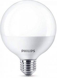 Philips Ampoule LED Globe Culot E27, 15 W equivalent 100W, Blanc Chaud 2700K de la marque Philips Lighting image 0 produit