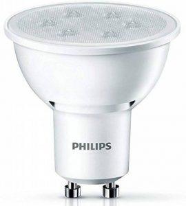 Philips Ampoule LED Spot Culot GU10, 3,5W équivalent 35W, Blanc Chaud 2700K, Finition Plastique de la marque Philips Lighting image 0 produit