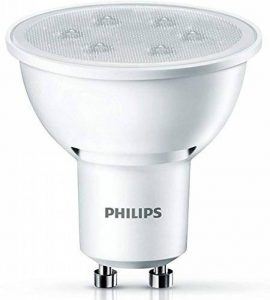 Philips Ampoule LED Spot Culot GU10, 3,5W équivalent 35W, Blanc Chaud 2700K, Finition Plastique de la marque Philips Lighting image 0 produit