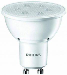 Philips Ampoule LED Spot Culot GU10, 3,5W équivalent 35W, Blanc Neutre 3000K, Finition Plastique de la marque Philips Lighting image 0 produit