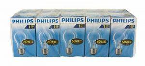 Philips Ampoules à incandescence E27 60W 1000h, lot de 10 de la marque Philips image 0 produit